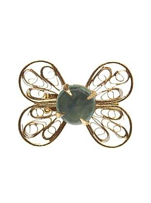 Sigris Broche Mariposa (Dorado Viejo)