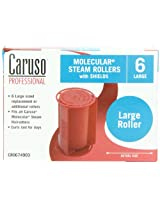 Caruso Professional Molecular Steam Rollers with Shields, Large (6-Pack)