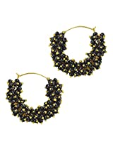 Ethnic Indian Bollywood Fashion Jewelry Set Traditional Hoops EarringsV735KV735k