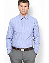 Striped Blue Formal Shirt