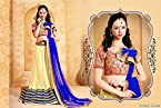 Contemporary Dazzling Diva Buttercream Net Lehenga Choli