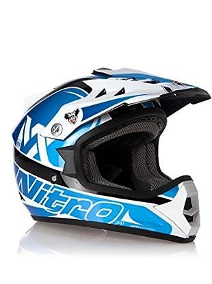 Nitro Casco MX Rider Junior (Azul)