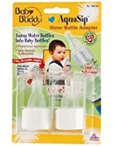 Baby Buddy Aqua Sip Water Bottle Adapter, Set Of 2 By Baby Buddy