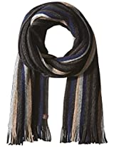 Haggar Men's Multi Stripe Knit Scarf
