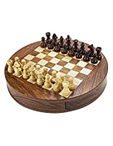 Chess Board/Set - Sheeshamwood Chess Board - CNC-MT-2 - By CHESSNCRAFTS