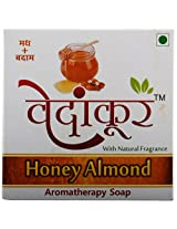 Vedankur Honey Almond Soap - 100 Grams