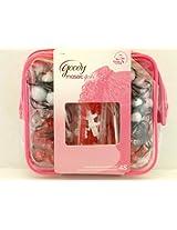 Goody Mosaic Girls Twin Beads & Barrettes - 48 pk.
