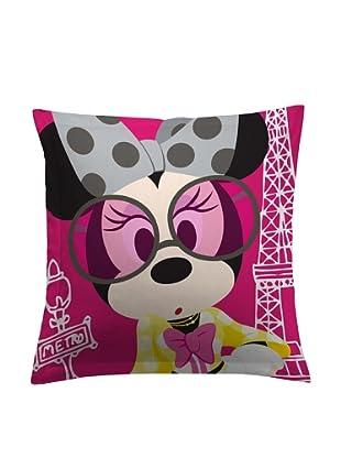 Disney Cojín Minnie París (Fucsia)