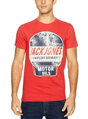 JACK & JONES T-Shirt Gasoline (Rojo)