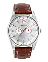 Titan Octane Analog Multi-Color Dial Men's Watch - NC9322SL06J