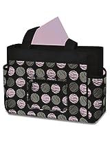 Baby Essentials Fashion Diaper Tote Bag Swirl Dot