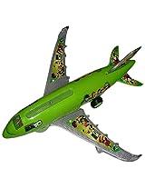 Kritigya Enterprises Ben 10 Airplane 550 (sdl3683_261, Green)