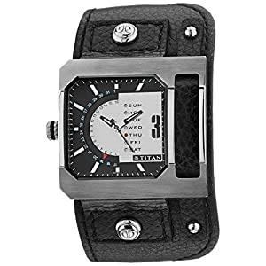 Titan Purple Analog Multi-Color Dial Men's Watch - NE1607SL02