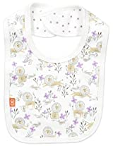 Magnificent Baby Baby-Girls Lion Reversible Bib