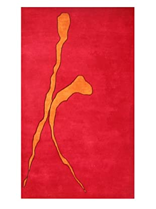 Meva Rugs Relations Rug (Red)