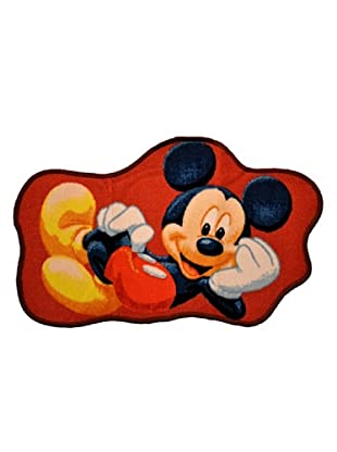ABC Tappeti Alfombra Mickey Mouse (Rojo)