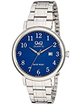 Q&Q Analog Blue Dial Men's Watches - BL62J215Y