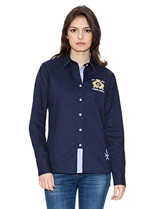 Valecuatro Camisa Escudo (Azul Marino)