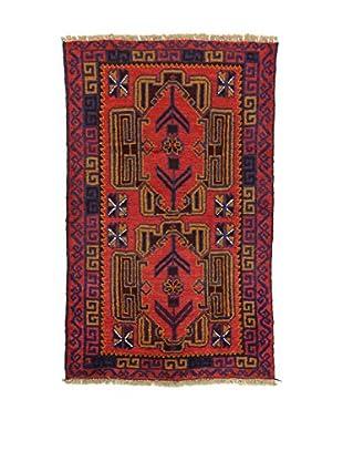 Eden Teppich Beluchistan rot/mehrfarbig 82 x 133 cm