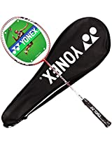Yonex Isometric Lite 2 Badminton Racquet, 3U-G4 (White/Orange)