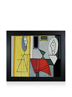 Pablo Picasso The Studio Framed Oil Painting, 20 x 24
