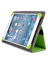 Kroo Universal Multi Fit 8 to 10 Inches Tablet Folio Case, Green (MU10EXG1-8356)