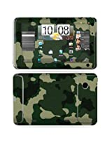 Protective Vinyl Skin Decal Cover for HTC Flyer 7 inch tablet sticker skins - Green Camo