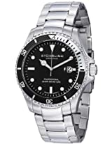 Stuhrling Original Men's 326B.331113 Aquadiver Regatta Elite Swiss Quartz Diver Date Watch