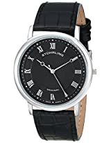 Stuhrling Original Analog Black Dial Men's Watch - 645.03