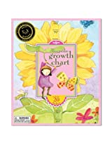 eeBoo Sunflower Growth Chart