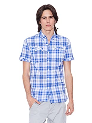 Gio Goi Camisa Speed (azul / blanco)