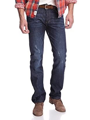 Jimmy Taverniti Men's Straight Fit Jean (Dark Blue)
