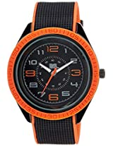 MTV Analog Black Dial Men's Watch - B7005OR