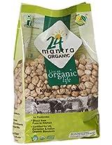 24 Mantra Organic Kabuli Chana (White Chick Peas), 1kg
