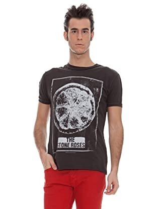 Amplified Camiseta Print Vintage The Stones Roses (Carbón)