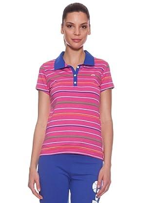 Ellese Polo Striped (Fucsia)