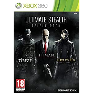 Ultimate Stealth Triple Pack: Hitman Absolution, Thief and Deux Ex