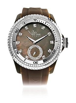 Vip Time Italy Uhr mit Japanischem Quarzuhrwerk VP8021BR_BR braun 43.00  mm