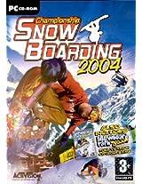 Championship Snowboarding + Snowboard Park Tycoon 2004 (PC)