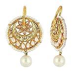 Multi Gold Plated Alloy Pearl Fashion Dangle & Drop Earring