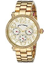 Betsey Johnson Women's BJ00492-06 Analog Display Quartz Gold Watch