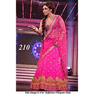 Bollywood Replica Rani Mukerji Net Lehenga In Pink Colour NC301