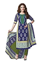 Suhanee Womens Cotton Unstitched Dress Material (Suhanee`S Exclusive Snehaa 1080 _Multi-Coloured)