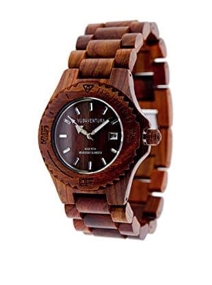 MUSAVENTURA Reloj Wood  Palisandro Marrón Oscuro