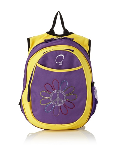 O3 Kid's All-in-One Backpack with Integrated Cooler (Peace Flower)