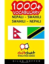 1000+ Nepali - Swahili, Swahili - Nepali Vocabulary