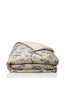 French Laundry Avalon Duvet (Natural/Blue)