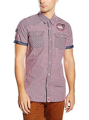 Lonsdale Men Slim Fit Shirt, Shortsleeve Reigate