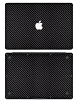 "XGear EXO Skin Protective Vinyl for MacBook Air 11"" (Black Carbon Fiber)"