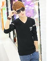OnlyUrs Autumn Winter Korean Sweater V Neck Men Casual Sweater